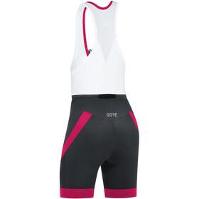 GORE WEAR C5 Bib Tights short Women black/jazzy pink